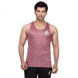 Discover Omtex Sublimated Sports Tank Top - Melange Pink sporting product Online in Mumbai - Sportobuddy.com