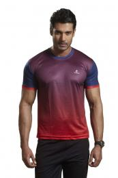 Discover Omtex Active Wear T-shirts - Red sporting product Online in Mumbai - Sportobuddy.com