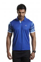 Discover Omtex Active Wear T-shirts - Blue sporting product Online in Mumbai - Sportobuddy.com