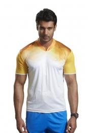 Discover Omtex Active Wear T-shirts - Yellow sporting product Online in Mumbai - Sportobuddy.com