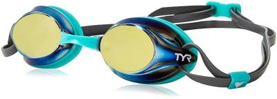 Discover TYR Velocity Mirror Swimming Goggles - Gold sporting product Online in Mumbai - Sportobuddy.com