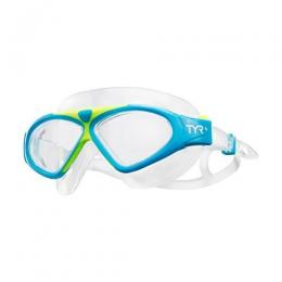 Discover TYR Magna Mask Swimming Goggles - Blue/Yellow sporting product Online in Mumbai - Sportobuddy.com