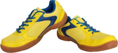 Discover Nivia 606 Flash Badminton Shoes - Yellow sporting product Online in Mumbai - Sportobuddy.com