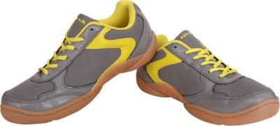 Discover Nivia 607 Flash Badminton Shoes - Grey sporting product Online in Mumbai - Sportobuddy.com
