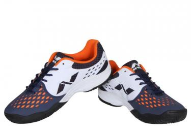 Discover Nivia 134 Zeal Pro Tennis Shoes - White/Blue sporting product Online in Mumbai - Sportobuddy.com