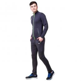 Discover Nivia 2423 Tracksuit - Grey sporting product Online in Mumbai - Sportobuddy.com