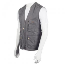Discover Wildcraft Utility Vest Men's Jacket -Grey sporting product Online in Mumbai - Sportobuddy.com
