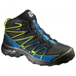 Discover Salomon X Chase MID GTX Shoes - Black sporting product Online in Mumbai - Sportobuddy.com
