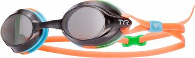 Discover TYR Velocity Swimming Goggle - Smoke/Mint sporting product Online in Mumbai - Sportobuddy.com