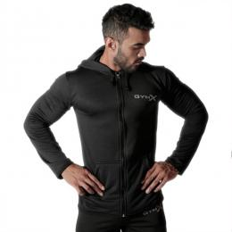 Discover GymX Vortex Hoodies - Pitch Black sporting product Online in Mumbai - Sportobuddy.com