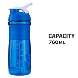 Discover Strauss Blender Shaker Bottle - Blue sporting product Online in Mumbai - Sportobuddy.com