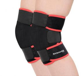 Discover Strauss Adjustable Knee Support - Pair sporting product Online in Mumbai - Sportobuddy.com