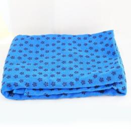Discover Strauss Anti-Slip Yoga Towel - Blue sporting product Online in Mumbai - Sportobuddy.com