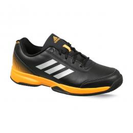 Discover Adidas Mens Racquettes Tennis Shoes - Black/Silver/Gold sporting product Online in Mumbai - Sportobuddy.com