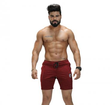 Discover Omtex Shorts for Men - Red sporting product Online in Mumbai - Sportobuddy.com